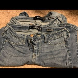 Hollister Jeggings size 1 short
